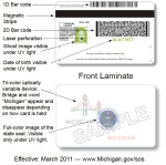 New Michigan License now works with bar code ID Scanner